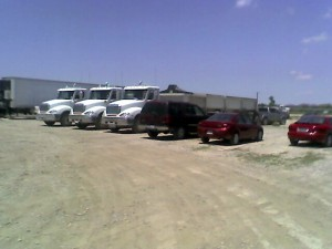 Blue Mound Self Storage has secure outdoor storage areas for company vehicles, boats, or RVs